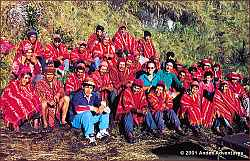 Porters on the Inca Trail