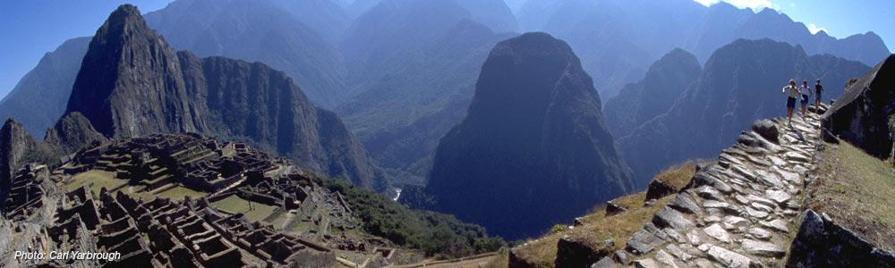 Inca Trail running